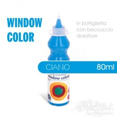 Window Color 80ml - Ciano