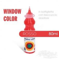 Window Color 80ml - Rosso