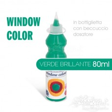 Window Color 80ml - Verde brillante