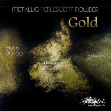 Metallic Perlescent Powder - Gold