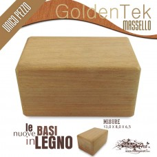 Base in legno massello Golden Teak