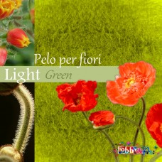 Pelo per fiori e decorazioni - Light Green