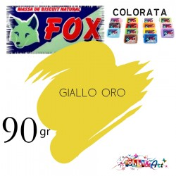 Massa de Biscuit Fox - 90gr Giallo Oro