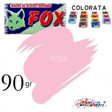 Massa de Biscuit Fox - 90gr Rosa