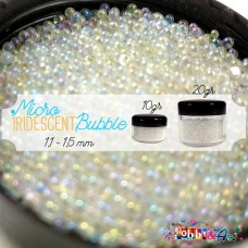 Iridescent Bubble 1,0 ~ 1,5 mm - 10gr