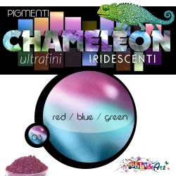 CHAMELEON - Pigmento iridescente 03 Red Blue Green