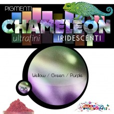 CHAMELEON - Pigmento iridescente 05 Yellow Green Purple