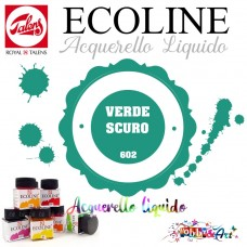 Ecoline Acquerello liquido - Verde Scuro 3ml