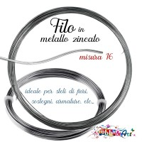 Filo metallico zincato - 1mt x 1,8mm