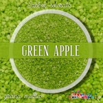 Sabbia colorata media - Green Apple