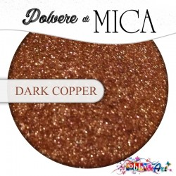 Pigmento in Polvere di Mica - DARK COPPER