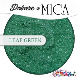 Pigmento in Polvere di Mica - LEAF GREEN