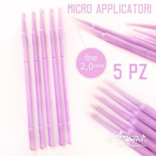 Micro applicatore fine - 2mm - 5 pezzi