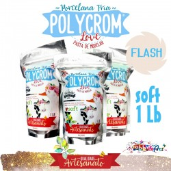 Porcelana Fria POLYCROM SOFT 1Lb - Flash