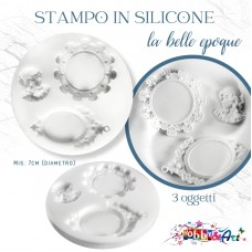 Stampo in silicone La Belle Epoque