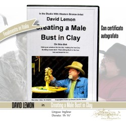 DVD Create a Male Bust in Clay