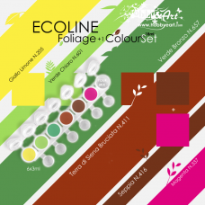 Ecoline - Foliage Color Set, 6 colori