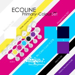 Ecoline - Primary Color Set, 6 colori