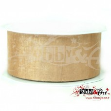 Nastro in voile 38 mm BEIGE - 5 mt