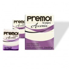 Sculpey Premo - Traslucent White 56gr