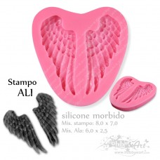 Stampo in silicone - Ali angelo 01