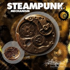 Steampunk Mechanism in metallo - 1pz