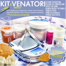 Venatori in silicone - Starter Kit
