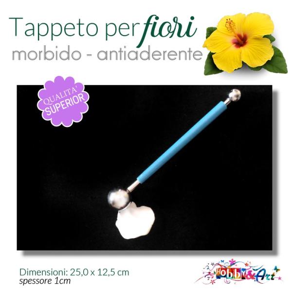 Tappeto antiaderente per modellazione fiori - 20x12,5 mm