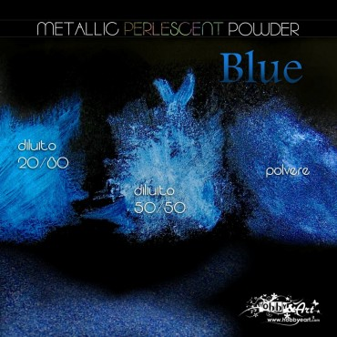 Metallic Perlescent Powder - Blue