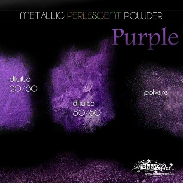 Metallic Perlescent Powder - Purple