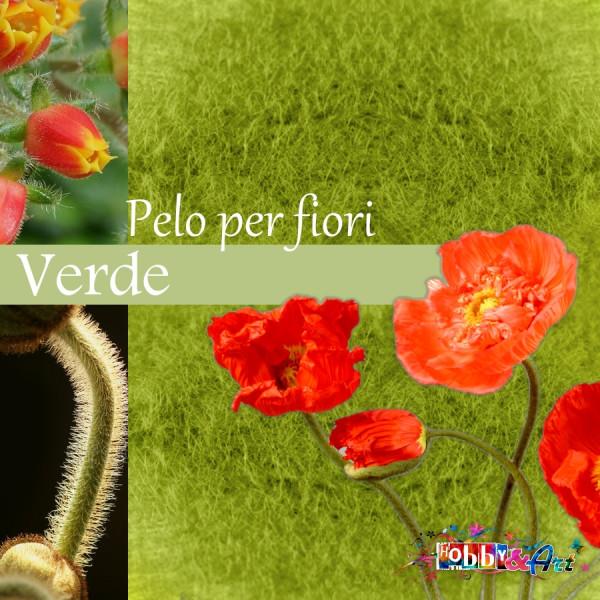 Pelo per fiori e decorazioni - Verde