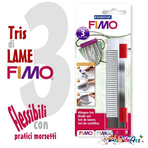 Fimo - Tris di lame extra sottili, inossidabili