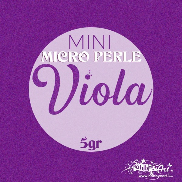 Mini Micro Perle - Viola 5gr