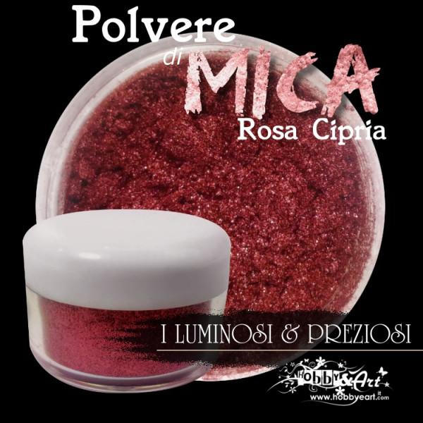 Pigmento in Polvere di Mica - ROSA CIPRIA