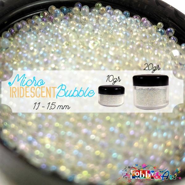 Iridescent Bubble 1,0 ~ 1,5 mm - 10gr