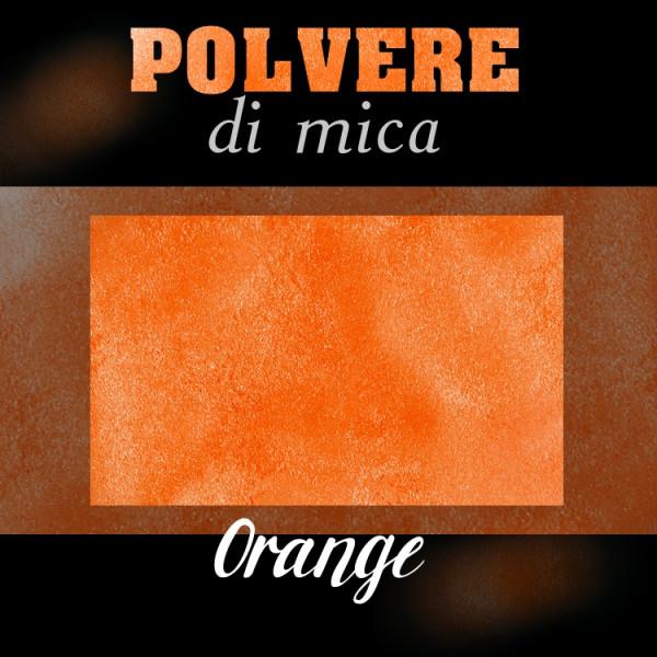 Pigmento in Polvere di Mica - ORANGE