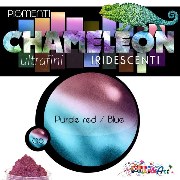 CHAMELEON - Pigmento iridescente 08 Red Purple Blue