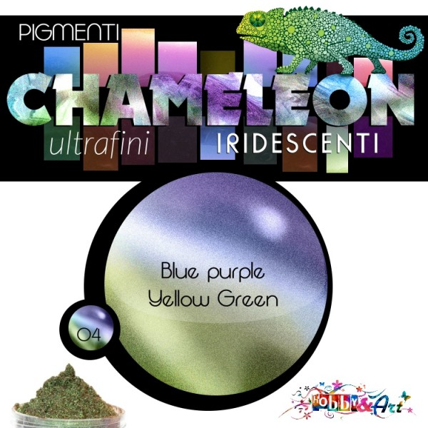 CHAMELEON - Pigmento iridescente 04 Yellow Blue Green
