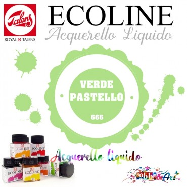 Ecoline Acquerello liquido - Verde Pastello 3ml