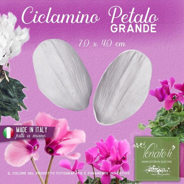 Venatore in silicone Ciclamino - Petalo grande ITA 7,0 x 4,0 cm ITA