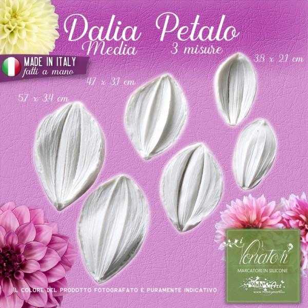 Venatore in silicone Dalia - Petalo 3 coppie 3 misure