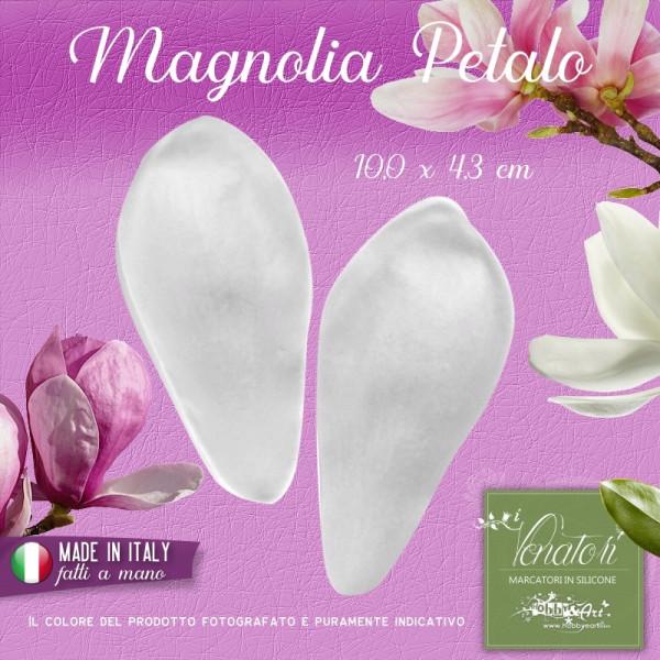 Venatore in silicone Magnolia - Petalo 10,0 x 4,3 cm