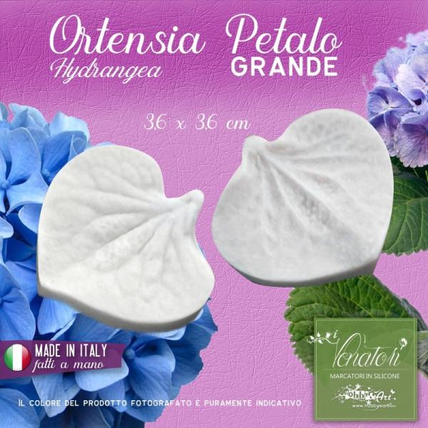 Venatore in silicone Ortensia - Petalo Grande 3,6 x 3,6 cm