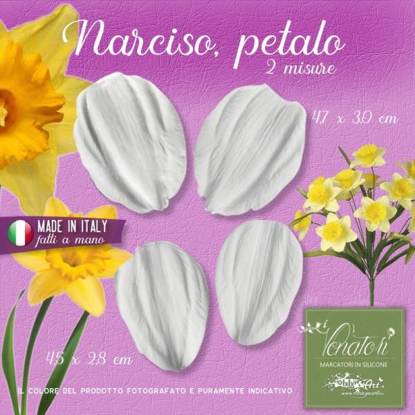 Venatore in silicone Narciso - Petalo 2 coppie