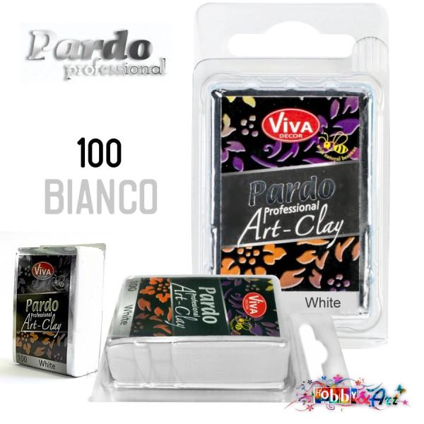Pardo Professional Art-Clay, 100 Bianco - 56g