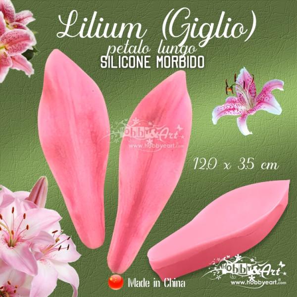 Venatore in silicone - petalo di Giglio, 12,0 x 3,5 cm Cina