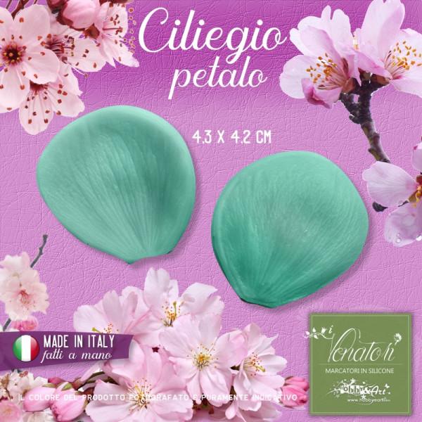 Venatore in silicone fiore di Ciliegio - petalo 4,3 x 4,2 cm ITA