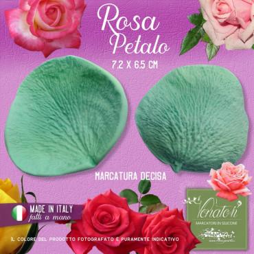 Venatore in silicone petalo di Rosa, 7,2 x 6,5 cm ITA