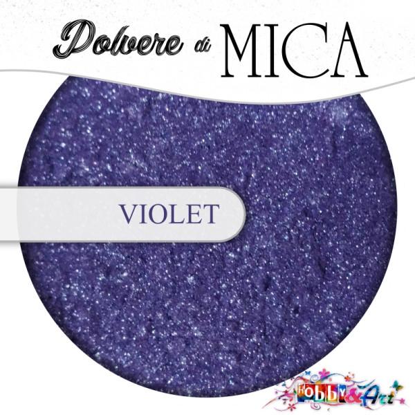 Pigmento in Polvere di Mica - VIOLET