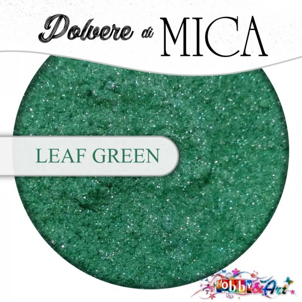 Pigmento in Polvere di Mica - LEAF GREEN